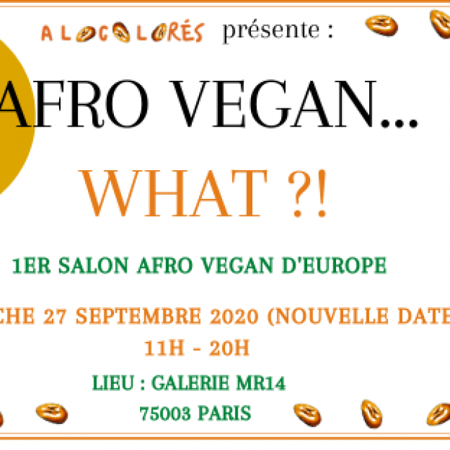 AFRO VEGAN WHAT ?!