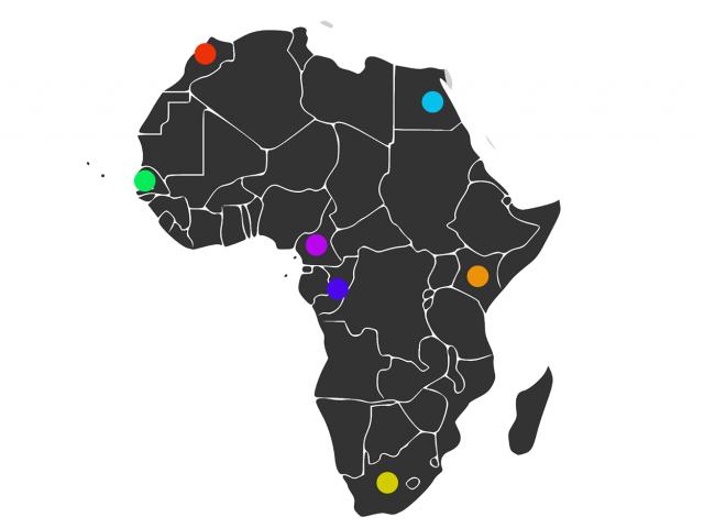 Jeu des 7 familles d'Afrique