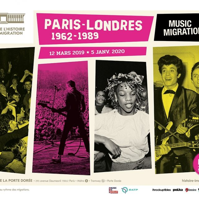 Exposition Paris-Londres, Music Migrations (1962-1989)
